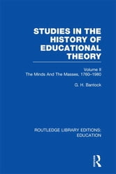 Studies in the History of Educational Theory Vol 2