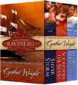 Rakes & Rebels: The Raveneau Family (Silver Storm, Surrender the Stars, His Reckless Bargain)