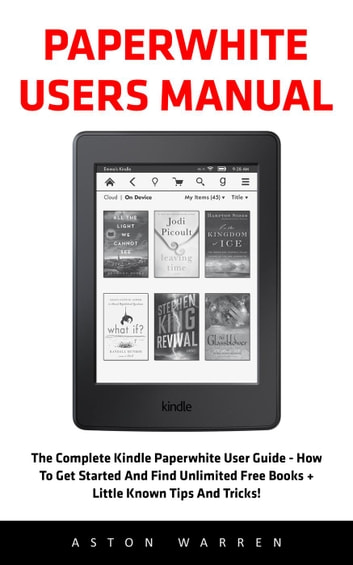 Amazon Kindle User Manuals Instructions - Over 100,000