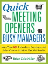 Quick Meeting Openers for Busy Managers