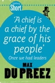 Tafelberg Short: A chief is a chief by the grace of his people