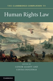 download The Cambridge Companion to Human Rights Law book