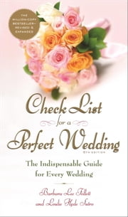 Check List for a Perfect Wedding, 6th Edition