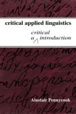 Critical Applied Linguistics