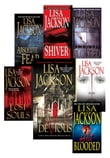 Lisa Jackson's Bentz & Montoya Bundle: Shiver, Absolute Fear, Lost Souls, Hot Blooded, Cold Blooded, Malice & Devious