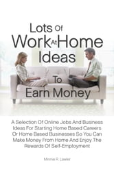 Lots Of Work At Home Ideas To Earn Money