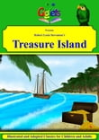 Robert Louis Stevenson's Treasure Island Illustrated and Adapted for Children and Adults