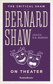 download The Critical Shaw: On Theater book