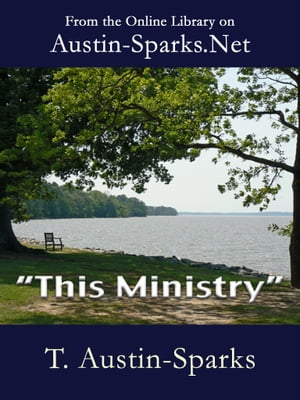 """This Ministry"""