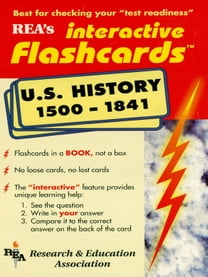 United States History 1500-1841 Interactive Flashcards Book