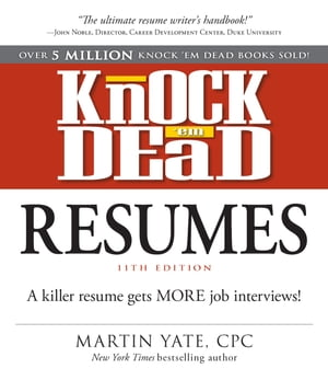 Knock Em Dead Resumes 11th edition
