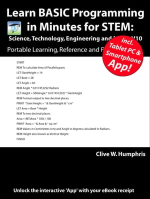 Learn BASIC Programming for STEM: Science,  Technology,  Engineering and Maths V10