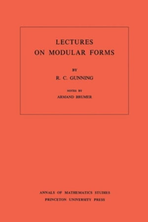 Lectures on Modular Forms. (AM-48)
