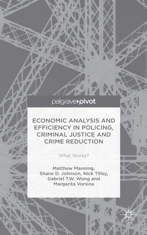 Economic Analysis and Efficiency in Policing,  Criminal Justice and Crime Reduction What Works?