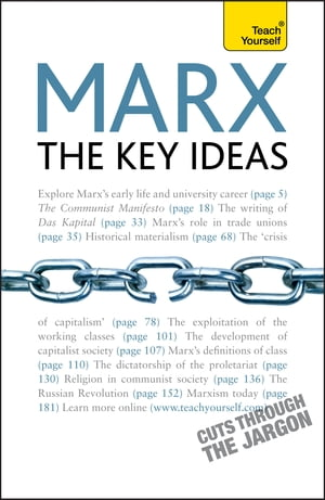 Marx - The Key Ideas: Teach Yourself