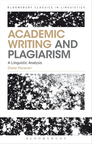 Academic Writing and Plagiarism A Linguistic Analysis