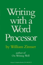 Writing with a Word Processor Cover Image