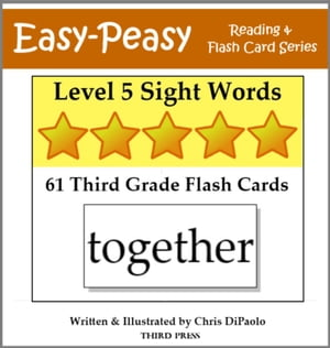 Level 5 Sight Words: 61 Third Grade Flash Cards