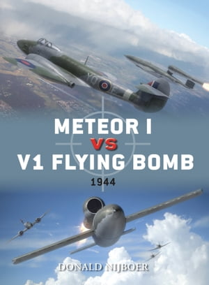 Meteor I vs V1 Flying Bomb 1944