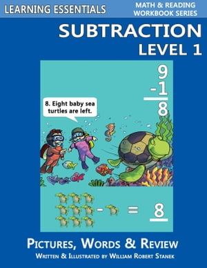 Subtraction Level 1: Pictures, Words & Review