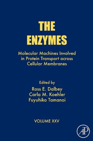 The Enzymes Molecular Machines Involved in Protein Transport across Cellular Membranes