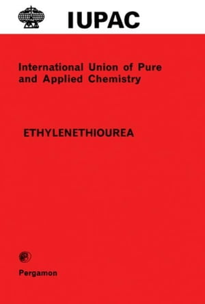 Ethylenethiourea: Applied Chemistry Division Commission on Terminal Pesticide Residues