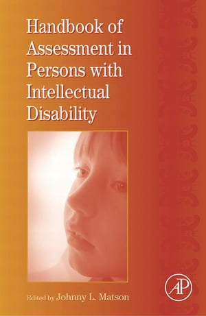 International Review of Research in Mental Retardation Handbook of Assessment in Persons with Intellectual Disability