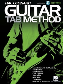 Hal Leonard Guitar Tab Method - Book 3