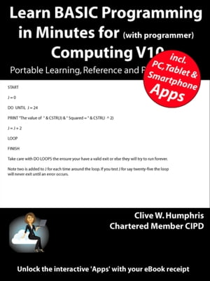 Learn BASIC Programming in Minutes for Computing V10