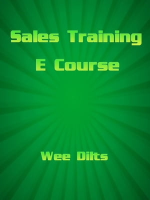 Sales Training Ecourse