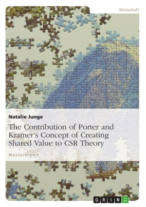 The Contribution of Porter and Kramer's Concept of Creating Shared Value to CSR Theory