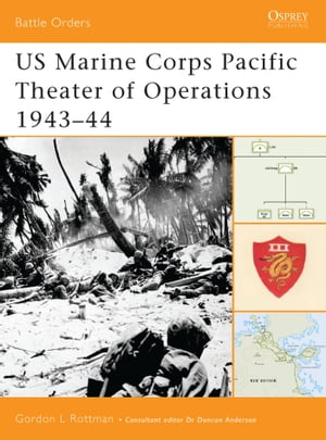 US Marine Corps Pacific Theater of Operations 1943?44