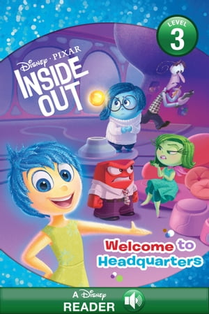 Inside Out: Welcome to Headquarters A Disney Read-Along (Level 1)