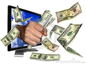 Supplementing your income with the internet,  a practical guide Making money online.