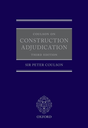 Coulson on Construction Adjudication