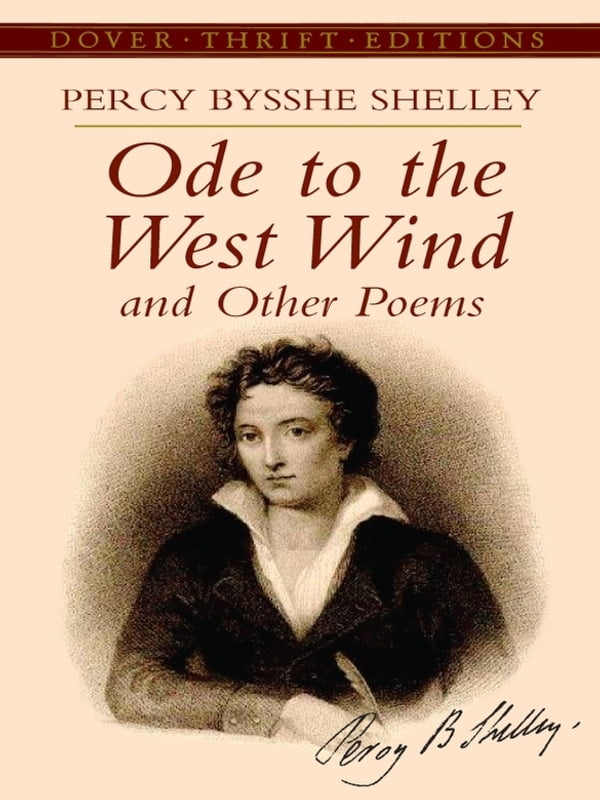 an analysis of poetic inspiration in ode to a nightingale by keats and ode to the west wind by shell