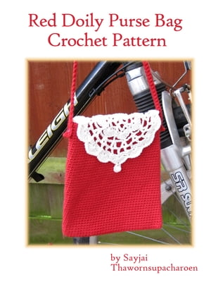 Red Doily Purse Bag Crochet Pattern