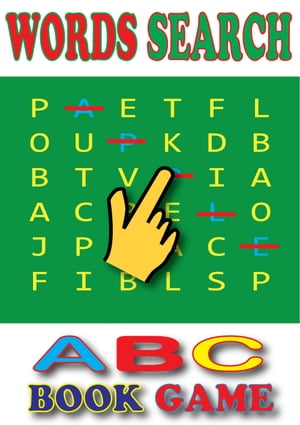 Words Search:ABC's Book for Kids An Interactive Book Game And Alphabet Song [Free Audio]