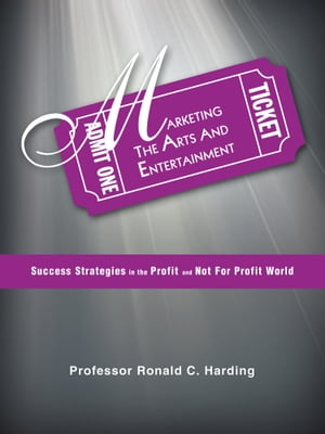 Marketing the Arts and Entertainment Success Strategies in the Profit and Not For Profit World