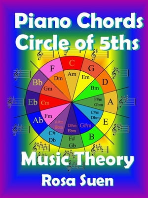 Music Theory - Piano Chords Theory - Circle of 5ths Learn Piano With Rosa
