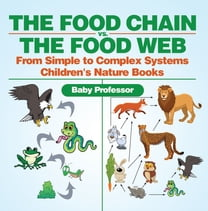 The Food Chain vs. The Food Web - From Simple to Complex Systems | Children's Nature Books