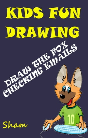 Kids Fun Drawing: Draw The Fox Checking Emails