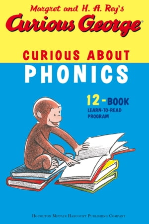 Curious George Curious About Phonics 12 Book Set (Read-aloud)
