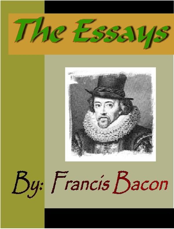 Essay Of Francis Bacon Of Love