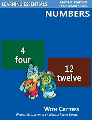 Number Flash Cards: Numbers and Critters