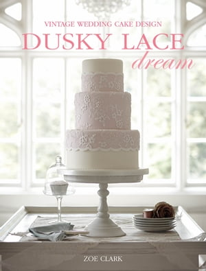 Dusky Lace Dream Vintage Wedding Cake Design