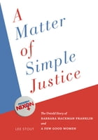 A Matter of Simple Justice Cover Image