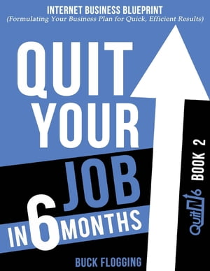Quit Your Job In 6 Months: Book 2 - Internet Business Blueprint (Formulating Your Business Plan for Quick, Efficient Results)