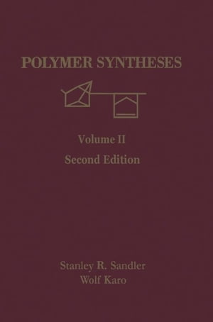 Polymer Syntheses