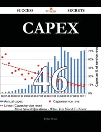 Capex 46 Success Secrets - 46 Most Asked Questions On Capex - What You Need To Know